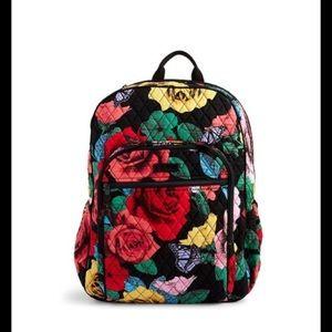 Vera Bradley Campus Tech Havana Rose Backpack